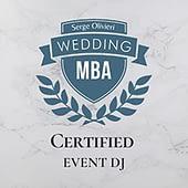DJ:Plus! Entertainment Australia's first WEDDING MBA Certified MC & DJ