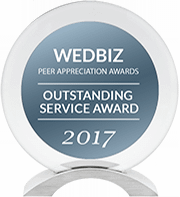 DJ:Plus! Entertainment Awarded Outstanding Service Award & Creative Talent Award in 2017 WedBiz Peer Appreciation Awards
