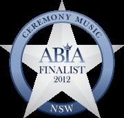 ABIA Finalist Best Ceremony Music DJ (NSW) | DJ:Plus! Entertainment - 2012