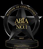 Best Wedding MC Australia - ABIA Designer Of Dreams 2017