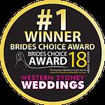 Best Wedding DJ Sydney - Brides Choice Award