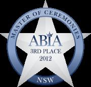 ABIA Finalist Best MC (NSW) | DJ:Plus! Entertainment - 2012