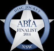 Finalist Best Wedding DJ NSW ABIA