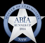 Best Wedding MC NSW ABIA Runner-UP