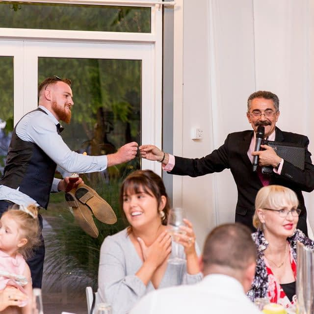 A Wedding Master of Ceremonies can create lots of fun moments