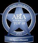 Winner Top 10 Best Wedding Disc Jockey Australia