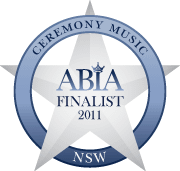 ABIA Finalist Best Ceremony Music (NSW) | DJ:Plus! Entertainment - 2011