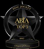 Best Wedding DJ Australia Top 5 - ABIA Designer Of Dreams 2017