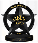 Best Wedding DJ Australia - Top 15 ABIA Designer Of Dreams 2018