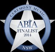 Finalist Best Wedding Ceremony Music NSW