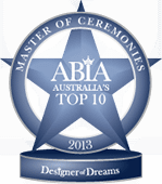 Winner Top 10 Best Wedding Master Of Ceremonies Australia