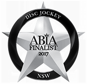 Winner Finalist Best Wedding Disc Jockey NSW 2017