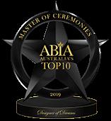 Best Wedding MC Australia - Top 10 ABIA Designer Of Dreams 2019